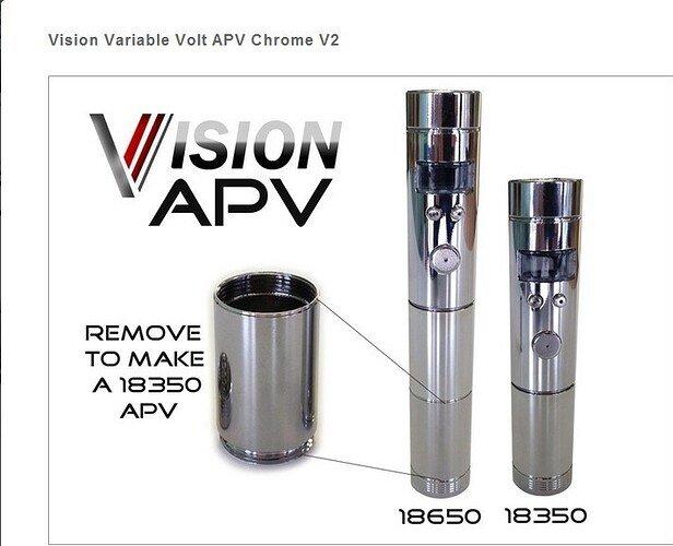 Original-Vision-Apv-Mod-V-V-Voltage-Regulation-of-Electronic-Cigarettes-with-Vision-CE4-Kits